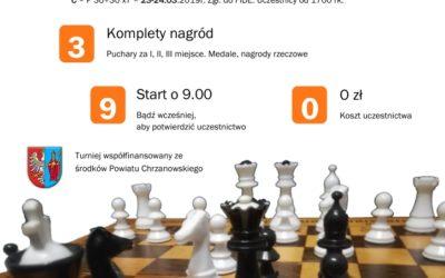 IV Ogólnopolski Turniej Szachowy Memoriał Sebastiana Tekielaka