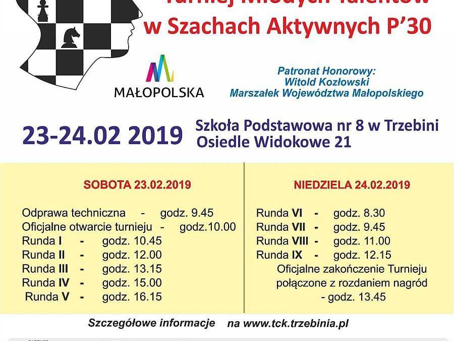XXIV Międzynarodowy Turniej Młodych Talentów wSzachach Aktywnych