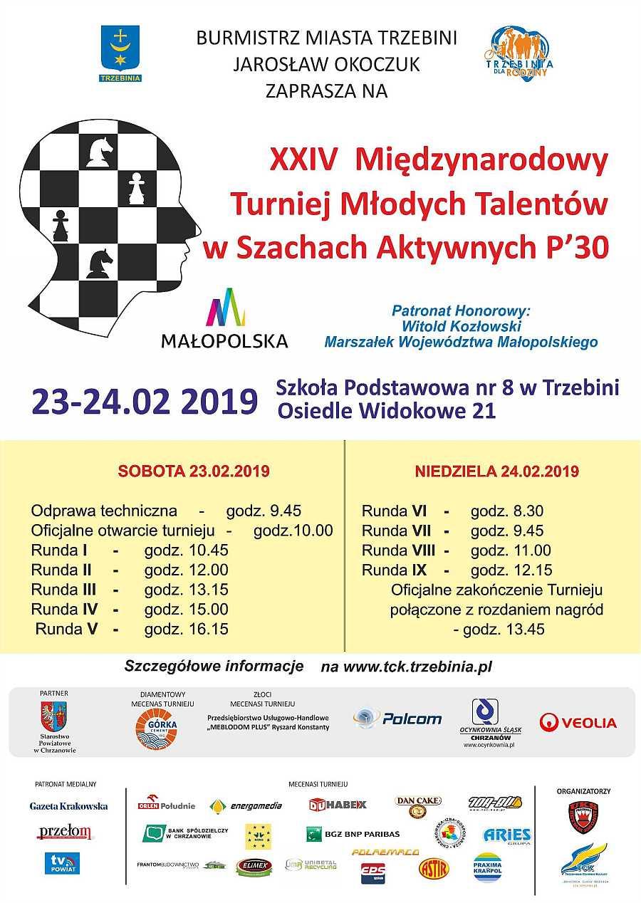 XXIV Międzynarodowy Turniej Młodych Talentów wSzachach Aktywnych 1